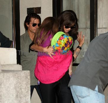 Tom Cruise, Katie Holmes and Suri
