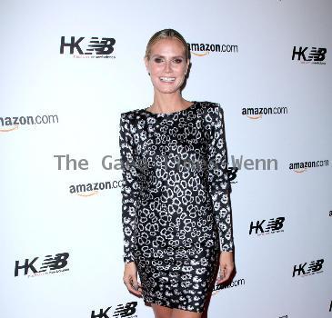 Super model Heidi Klum