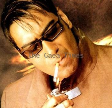 Oops! Ajay smoked in public again!