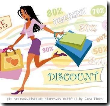 Re: Discount Shopping