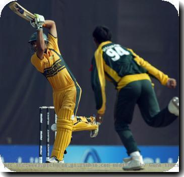Pak vs. Aus cricket