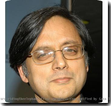 Re: Shashi Tharoor