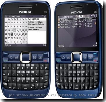 Re: Nokia E63