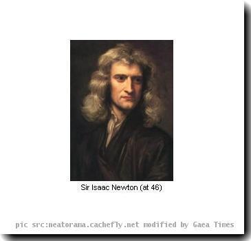 Re: Isaac Newton