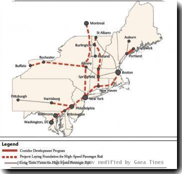 High Speed Rail - Northeast
