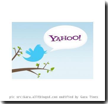 Yahoo,Twitter