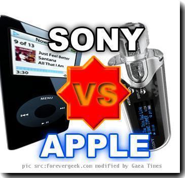 Re: Sony Vs Apple