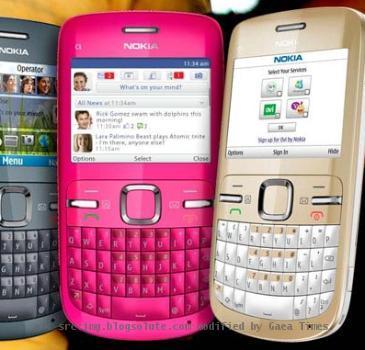 Re: Nokia C3