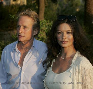 Catherine Zeta Jones, Michael Douglas