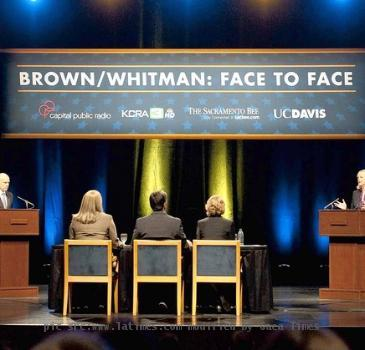 brown whitman debate