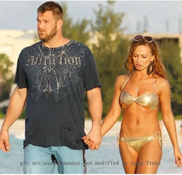 Karina Smirnoff and Brad penny