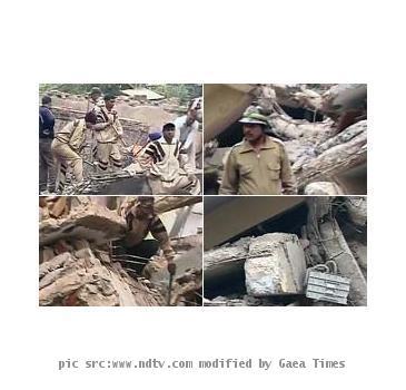 New Delhi Building collapse