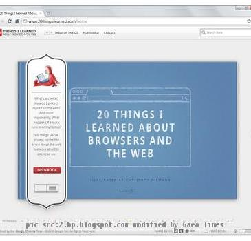 google web book