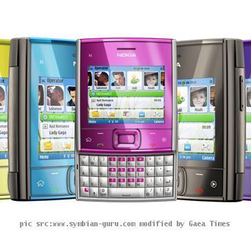 Nokia X5-01 Slider