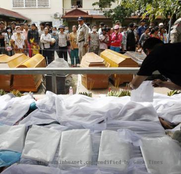 Cambodia Stampede