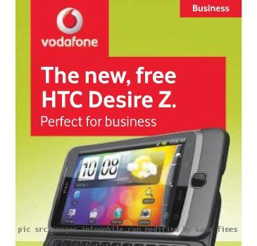 Vodafone, Htc Desire Z