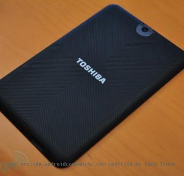 Toshiba Tegra 2 Android Honeycomb tablet : A Brief Preview