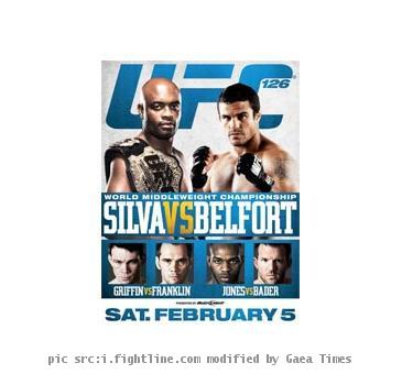 ufc 126 fight card