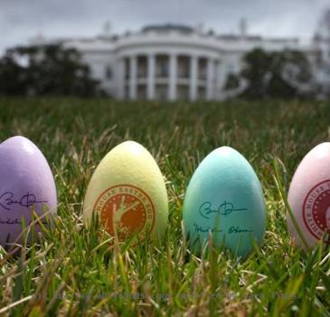 White House Easter Egg Roll Souvenir Eggs
