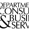 Logo of the Oregon Department of Consumer and Business Services from their 2006 publication, Applying for a loan to purchase or refinance a home in Oregon. logo