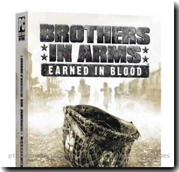 PC box art of Brothers in Arms: Earned in Blood. Retrieved from