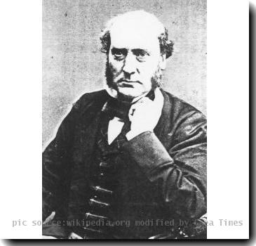 description- photo of English architect Sir George Gilbert Scott   source- website,