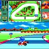 A screenshot of Sonic Drift