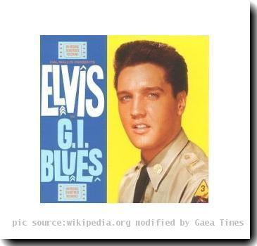 Album cover G. I. Blues Elvis Presley