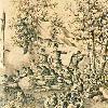Bulgarian rebels in battle, lithography by Henrik Dembitsky, detail, 1869. -