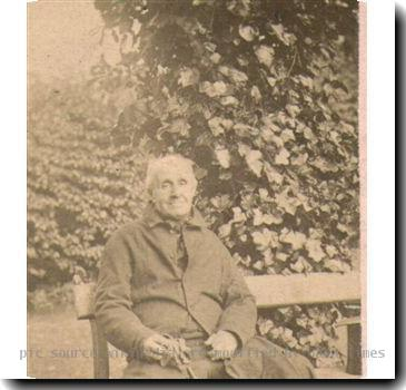 Photograph of John Badley, Surgeon of Dudley taken ca. 1865 original photograph in personal archives of D C McJonathan