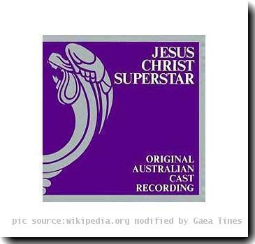 Jesus Christ Superstar Original Australian Cast Recording Album Cover