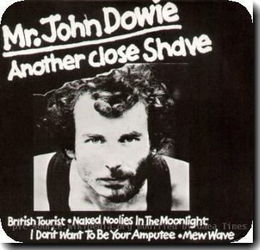 Album cover for ANother close shave - by John Dowie