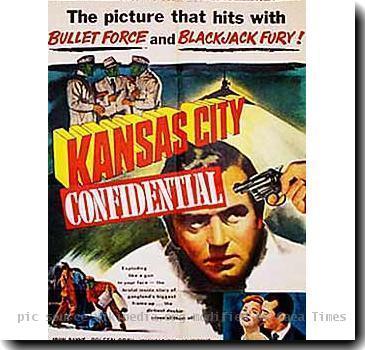 Kansas City Confidential 1952  poster