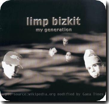 This is the My Generation single cover by the band Limp Bizkit.