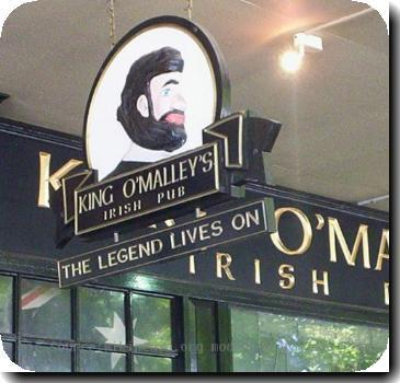 Sign from King OMalleys Irish pub in w:Civic, Australian Capital Territory. Named after w: King OMalley I took the photo
