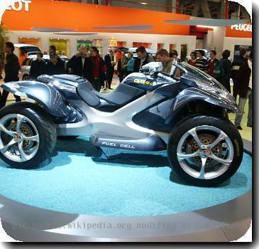 Peugeot Quark at the Amsterdam motor show 2005..