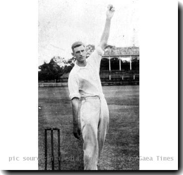 Picture of the former Australian cricketer Percy Hornibrook taken c1930.. Template:PD-Australia