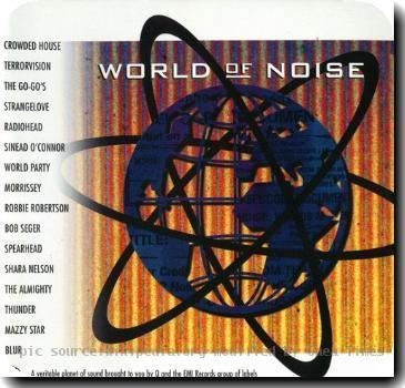 Cover of World of Noise. This was a Promotional CD given away with Q Magazine in 1995.