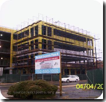 Red Bank construction.