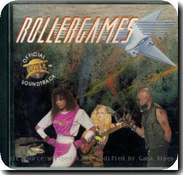 RollerGames Soundtrack CD released in 1989