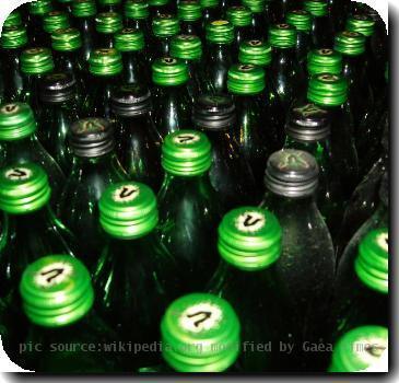 Collection of V energy drink bottles