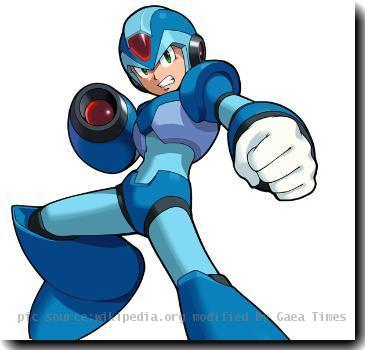 Summary  X as he appears in the game Mega Man Maverick Hunter X. Owned by Capcom. Retrieved from Atomic Fire Gallery.