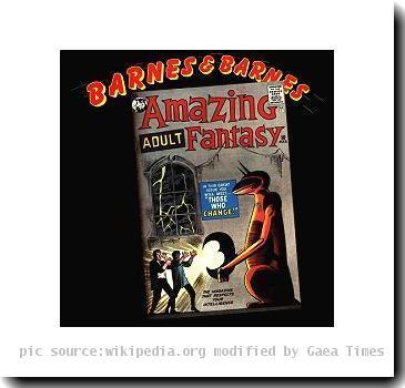 Cover of Barnes & Barnes Amazing Adult Fantasy album.