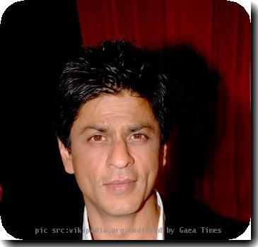 Indian actor Shah Rukh Khan
