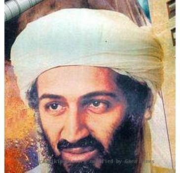 During a Sensitive Site Exploitation (SSE) mission in the Zhawar Kili area of Eastern Afghanistan members of a US Navy (USN) Seal Team found valuable intelligence information, including this Osama Bin Laden propaganda pos