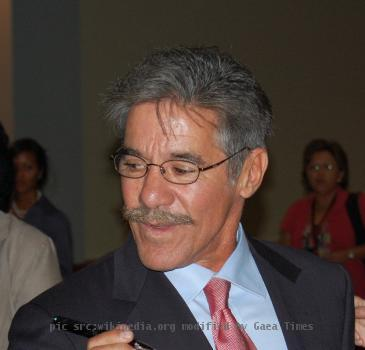 Geraldo Rivera after delivering the keynote at the Congressional Hispanic Caucus Institute