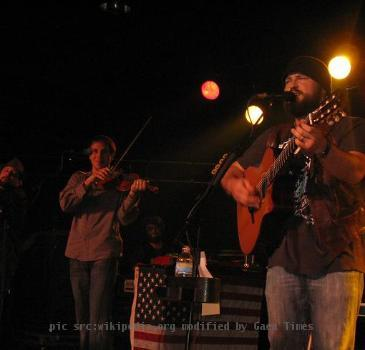 Zac Brown Band live at the Intersection. Grand Rapids, Michigan.