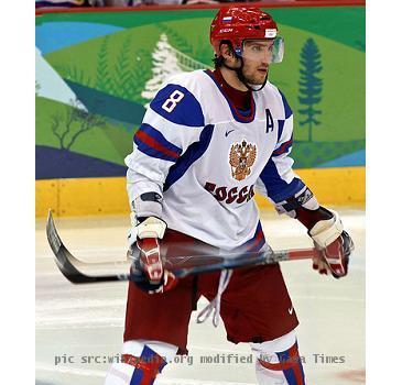 Alexander Ovechkin, Olympics 2010
