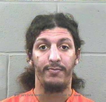 A mugshot of shoebomber Richard Reid