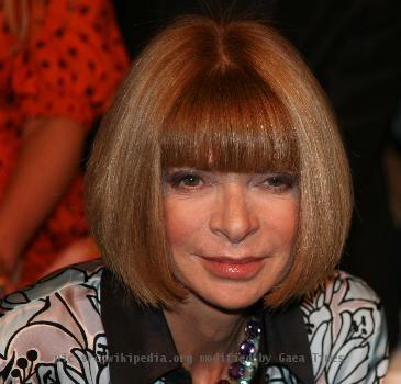 Anna Wintour at the wSienna Miller